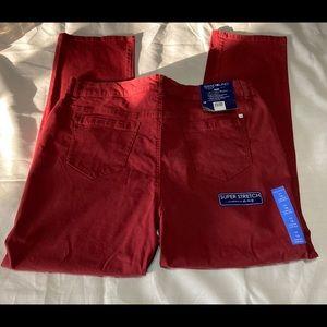 BANDOLINO, Women's Rust Colored jeans